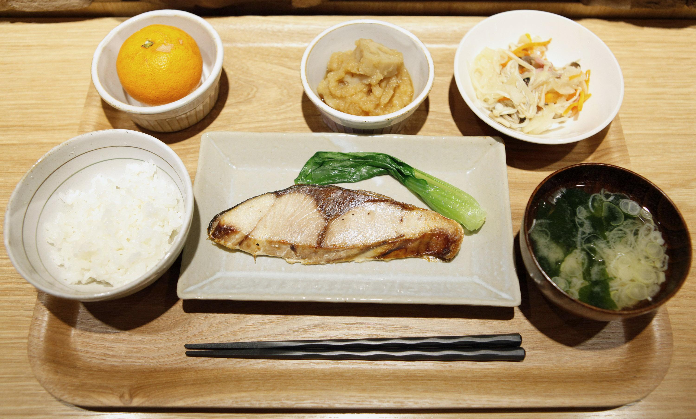 petit dejeuner japonais traditionnel