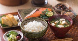 petit dejeuner japonais