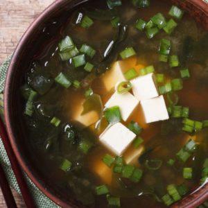 soupe miso recette